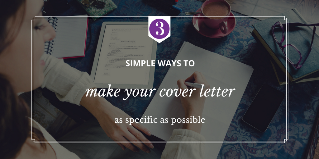 How to Write a Winning Cover Letter | ETC Employment & Training