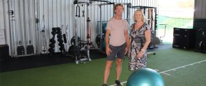 Greg Gleeson with ETC NEIS Trainer Helen Meader