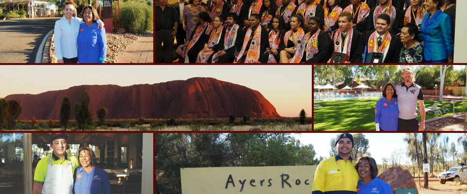 images of job seekers at ayers rock