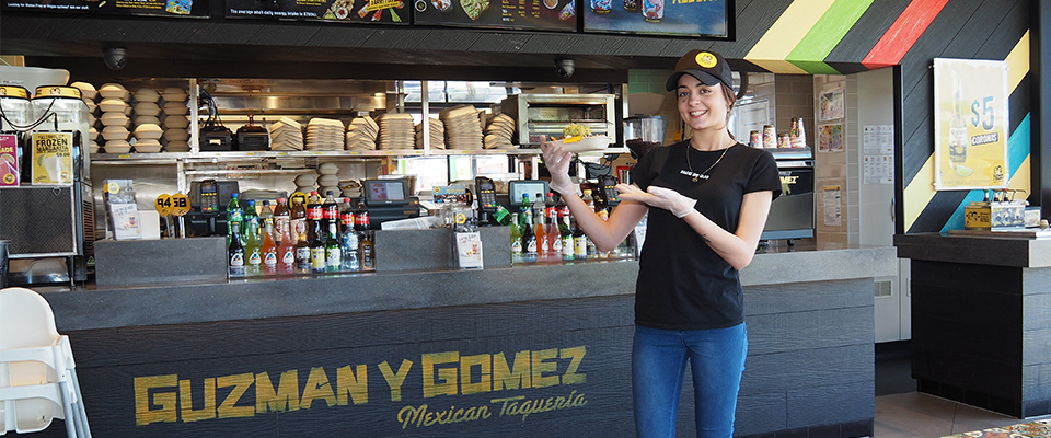 job seeker at Guzman Y Gomez
