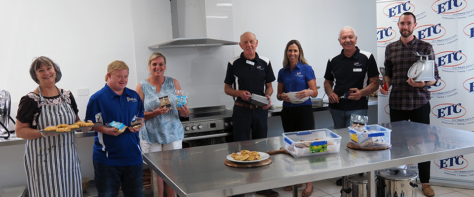 ETC visits the new kitchen facility