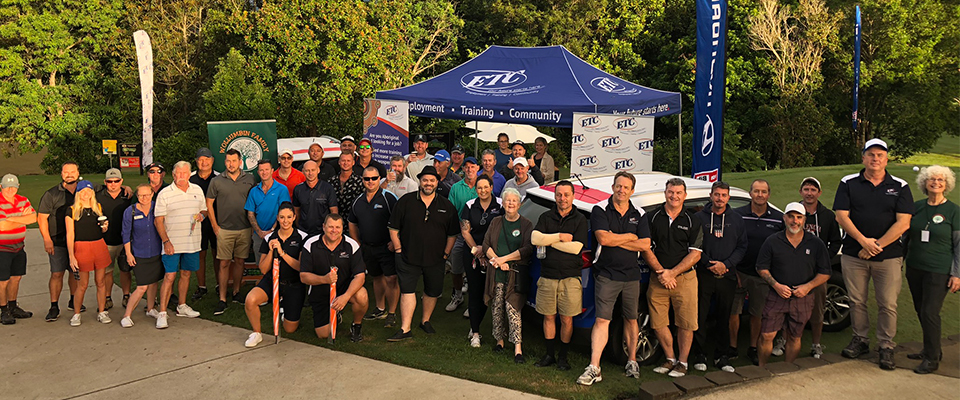 Charity Golf Day participants at the murwillumbah golf club