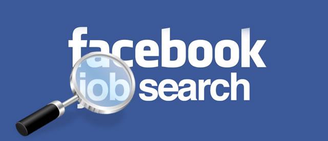 Facebook job search logo