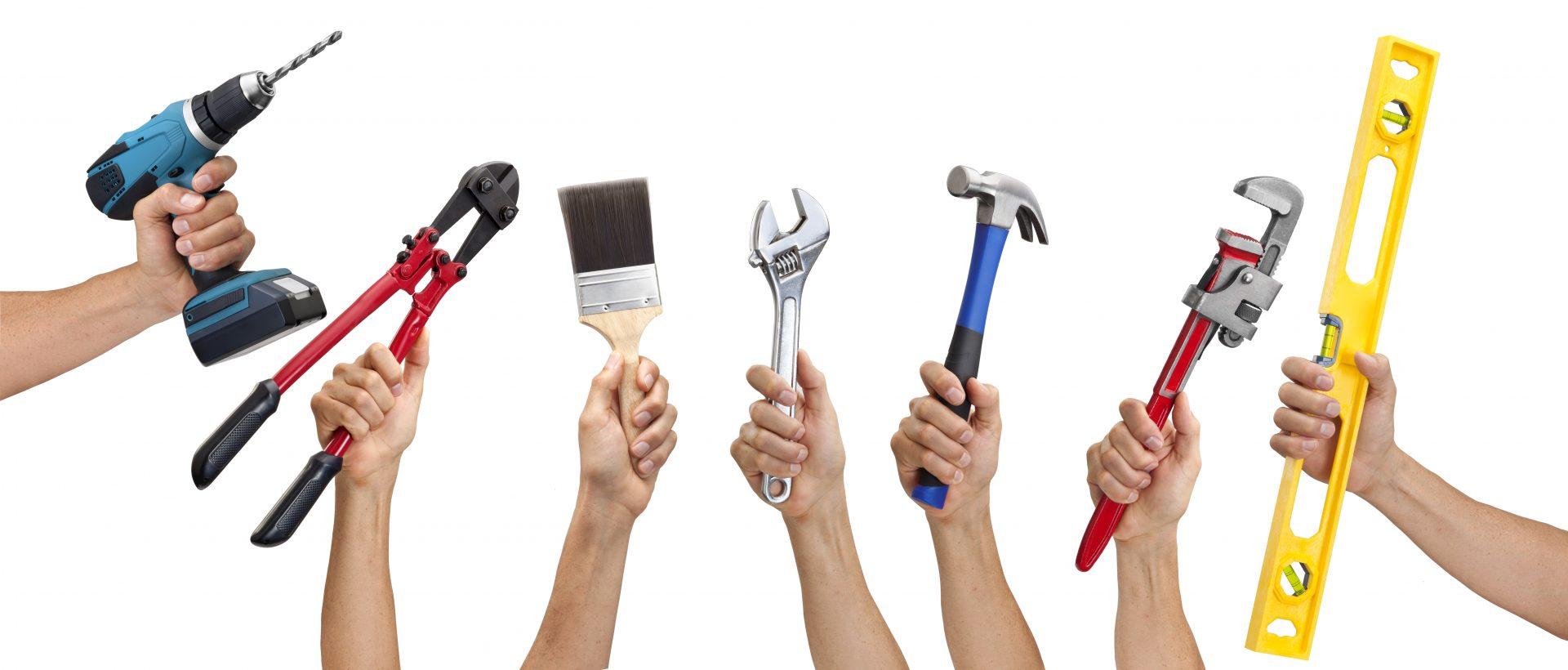 tools, drill, hammer