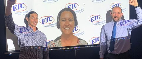 The ETC team behind digitising ETC's service delivery during COVID-19.