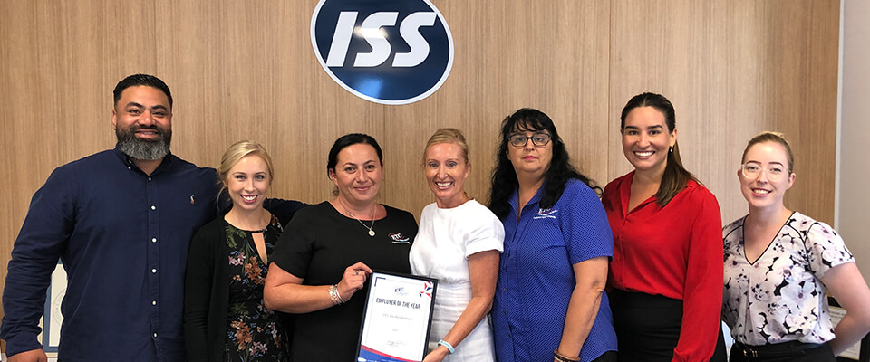 bulk recruitment ETC team with ISS ETC's Employer of the Year 2020